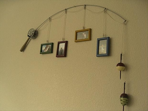 DIY-Ideas-Fishing-pole-picture-holder1