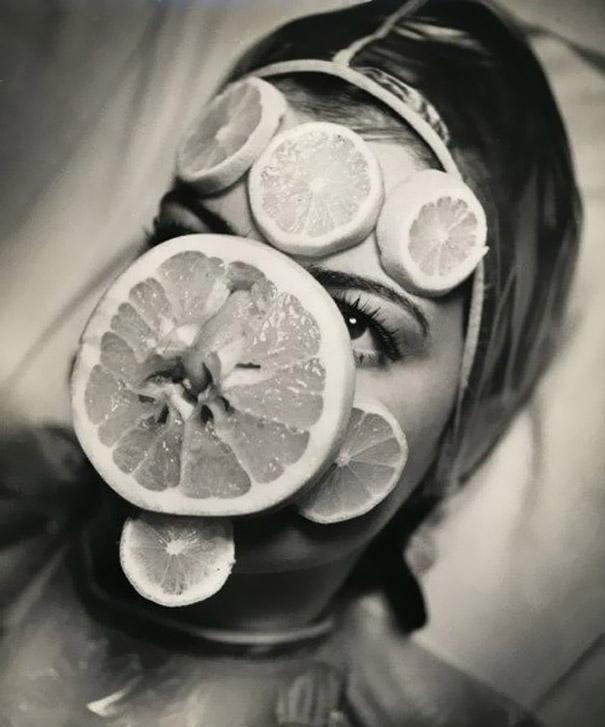 Meyve maskesi bu da pek garip gelmedi aslında çünkü ben de elma
